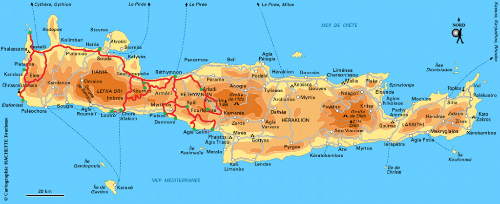 Balade en Crète de l'Ouest   PepetteEnVadrouille